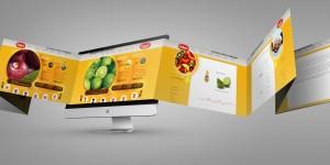 نمونه کار طراحی سایت شرکت آی پارا شرکت تدبیر رسانه سهند