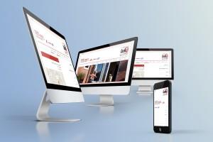 نمونه طراحی سایت رسپانسیو یا واکنش گرا