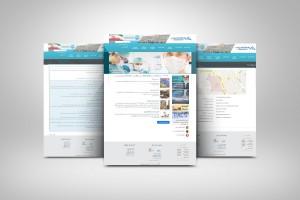 نمونه طراحی وب سایت سازمانی